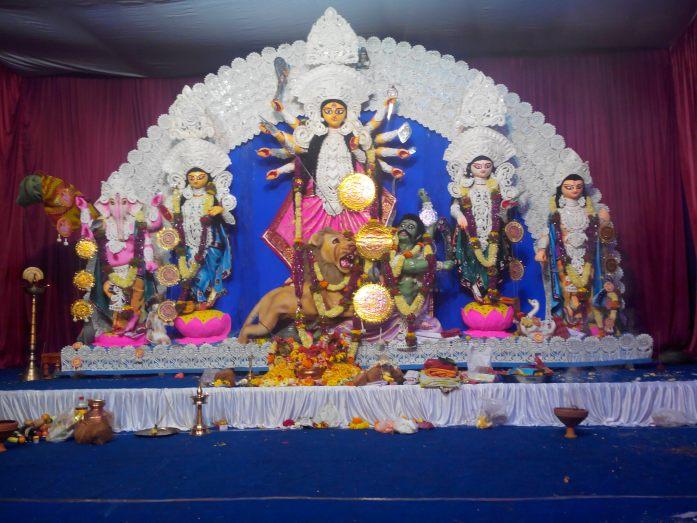Maa Durga idol 1