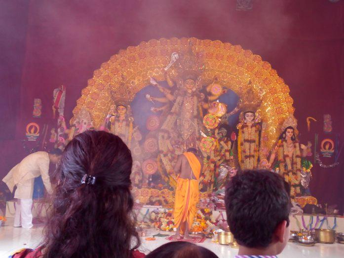 Maa Durga idol 2