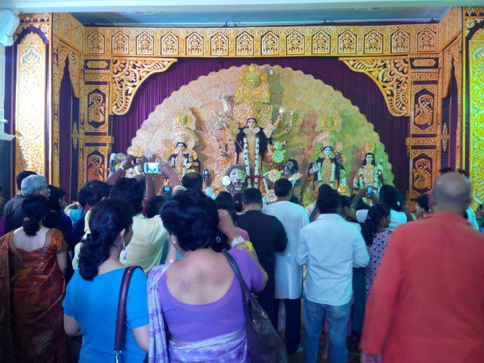 Maa Durga idol 3