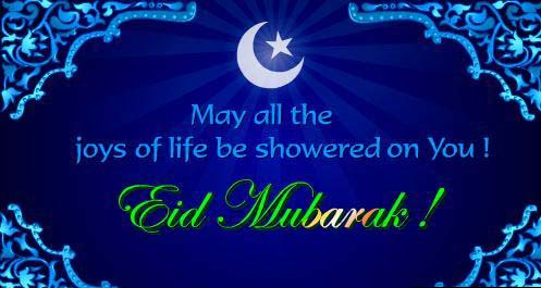 Eid mubarak ho!