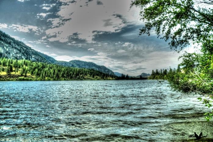 Lake Vasque near Oliver, B.C.